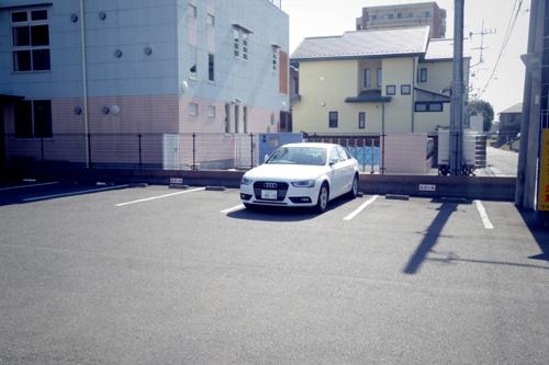 店舗西側第2駐車場