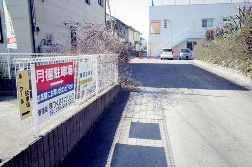 店舗南側第1駐車場
